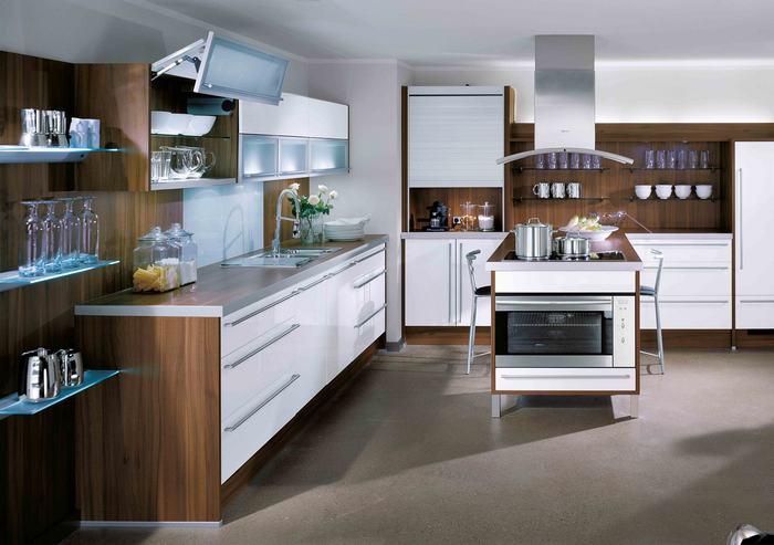 Kuchnie nowoczesne » Studio Gusta -> Kuchnie Nowoczesne Lakierowane Z Wyspą